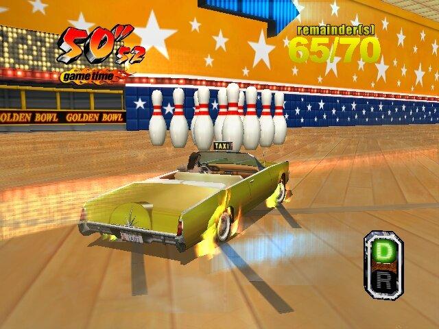 Кадры из игры Crazy Taxi