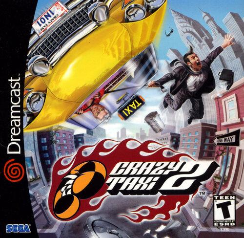 Обложки игры Crazy Taxi 2