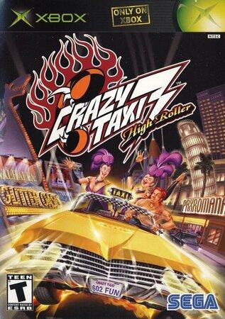 Обложки игры Crazy Taxi 3