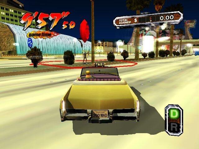 Промо-арт игры Crazy Taxi 3