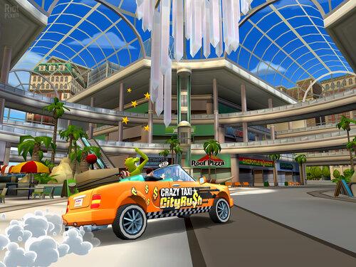 Промо-арт игры Crazy Taxi: City Rush