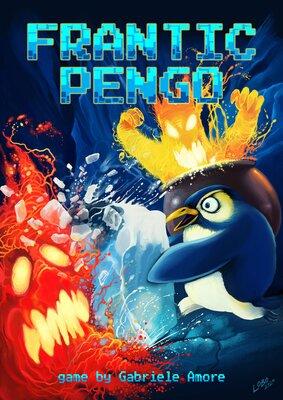 Обложки игры Frantic Pengo