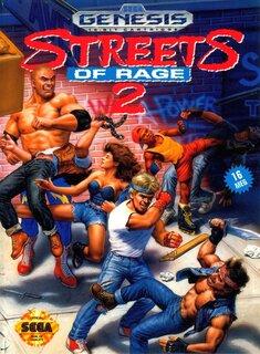 Обложки игры Streets of Rage 2