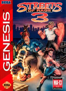 Обложки игры Streets of Rage 3