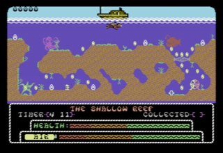 Exploding Fish — новая аркада для Commodore 64