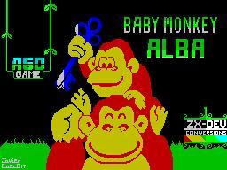 Baby Monkey Alba
