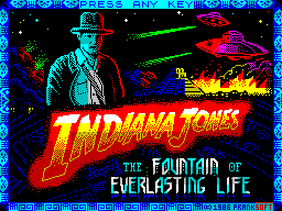 Indiana Jones and the Fountain of Everlasting Life
