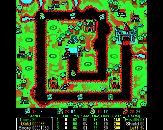 Castle Defender — первая игра для BBC Micro в жанре Tower Defence